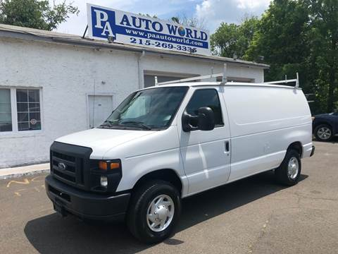 2013 Ford E-Series Cargo for sale at PA Auto World in Levittown PA