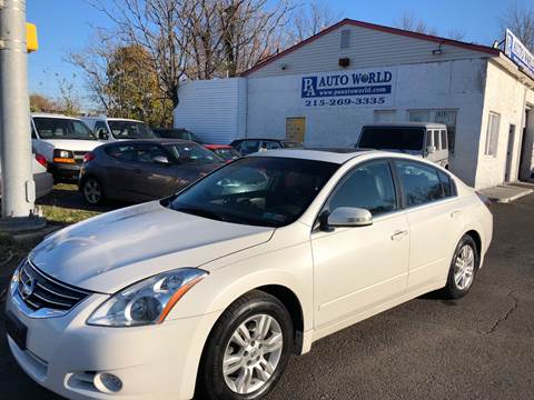 2012 Nissan Altima for sale at PA Auto World in Levittown PA