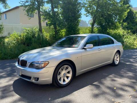 2007 BMW 7 Series for sale at PA Auto World in Levittown PA