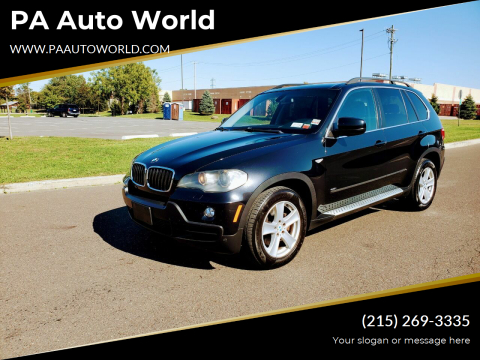 2008 BMW X5 for sale at PA Auto World in Levittown PA