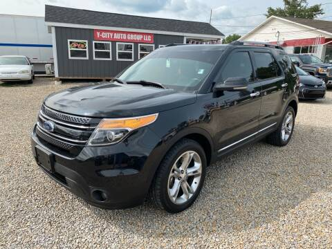 2013 Ford Explorer for sale at Y City Auto Group in Zanesville OH