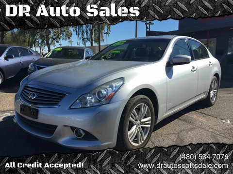 2012 Infiniti G25 Sedan for sale at DR Auto Sales in Scottsdale AZ