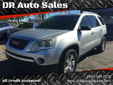 2011 GMC Acadia for sale at DR Auto Sales in Scottsdale AZ