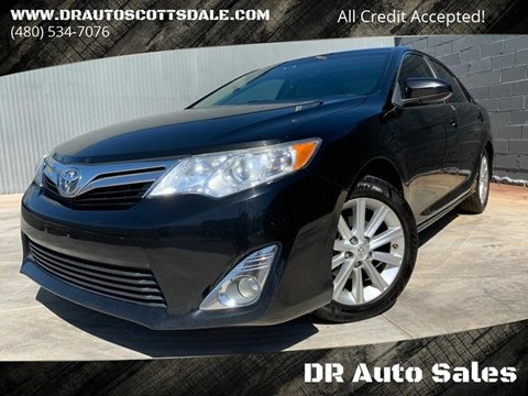 2013 Toyota Camry for sale at DR Auto Sales in Scottsdale AZ