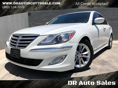 2013 Hyundai Genesis for sale at DR Auto Sales in Scottsdale AZ