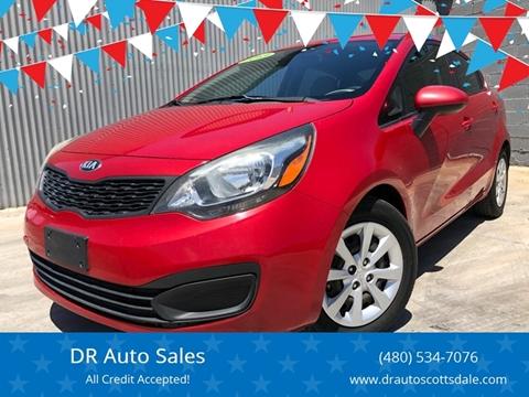 2013 Kia Rio for sale at DR Auto Sales in Scottsdale AZ