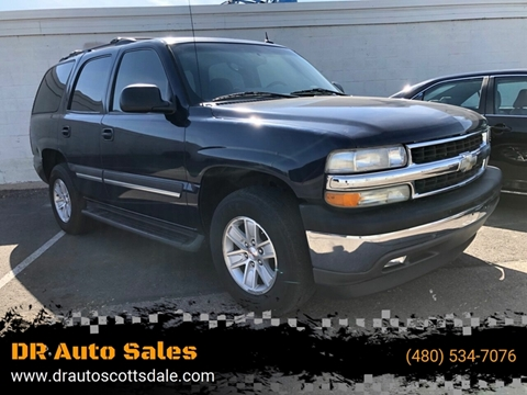 2005 Chevrolet Tahoe for sale at DR Auto Sales in Scottsdale AZ