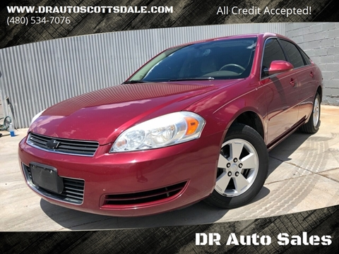 2006 Chevrolet Impala for sale at DR Auto Sales in Scottsdale AZ