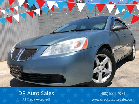 2009 Pontiac G6 for sale at DR Auto Sales in Scottsdale AZ