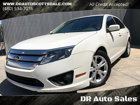 2012 Ford Fusion for sale at DR Auto Sales in Scottsdale AZ