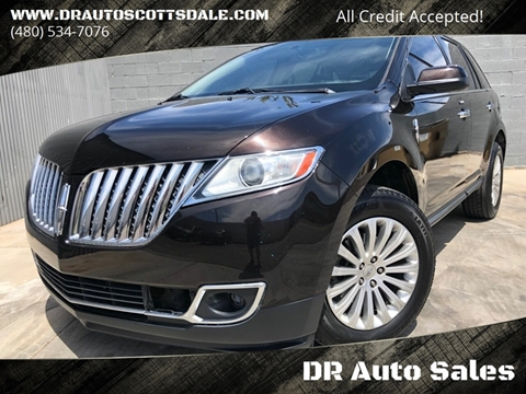 2013 Lincoln MKX for sale at DR Auto Sales in Scottsdale AZ