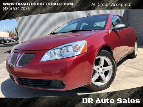 2008 Pontiac G6 for sale at DR Auto Sales in Scottsdale AZ