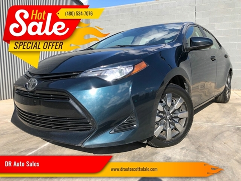 2017 Toyota Corolla for sale at DR Auto Sales in Scottsdale AZ