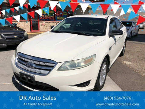 2010 Ford Taurus for sale at DR Auto Sales in Scottsdale AZ