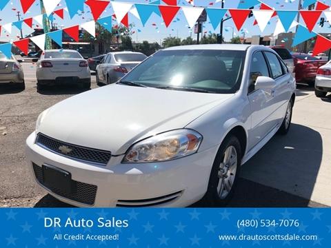2012 Chevrolet Impala for sale at DR Auto Sales in Scottsdale AZ