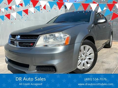 2013 Dodge Avenger for sale at DR Auto Sales in Scottsdale AZ