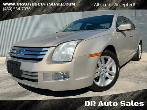 2006 Ford Fusion for sale at DR Auto Sales in Scottsdale AZ