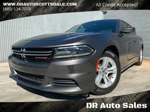 2015 Dodge Charger for sale at DR Auto Sales in Scottsdale AZ
