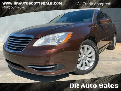 2013 Chrysler 200 for sale at DR Auto Sales in Scottsdale AZ