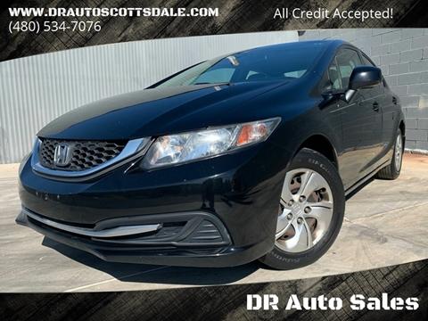2013 Honda Civic for sale at DR Auto Sales in Scottsdale AZ