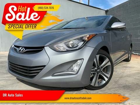 2015 Hyundai Elantra for sale at DR Auto Sales in Scottsdale AZ