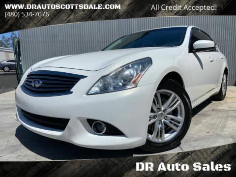 2013 Infiniti G37 Sedan for sale at DR Auto Sales in Scottsdale AZ