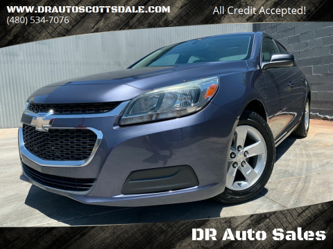 2015 Chevrolet Malibu for sale at DR Auto Sales in Scottsdale AZ