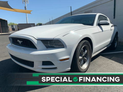 2013 Ford Mustang for sale at DR Auto Sales in Scottsdale AZ