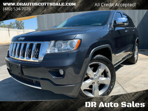 2012 Jeep Grand Cherokee for sale at DR Auto Sales in Scottsdale AZ