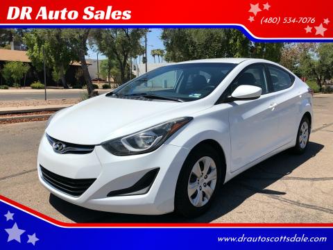 2016 Hyundai Elantra for sale at DR Auto Sales in Scottsdale AZ