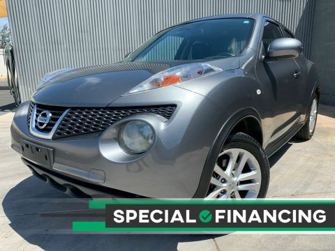 2012 Nissan JUKE for sale at DR Auto Sales in Scottsdale AZ