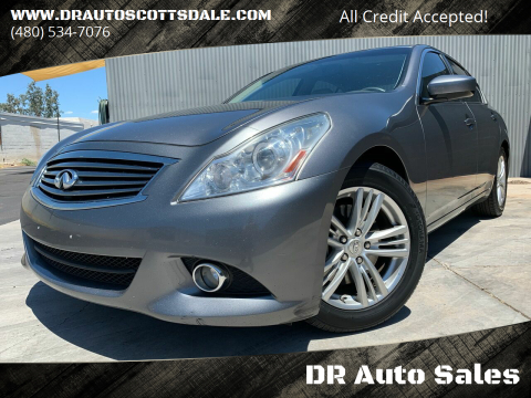 2013 Infiniti G37 Sedan for sale at DR Auto Sales in Scottsdale AZ