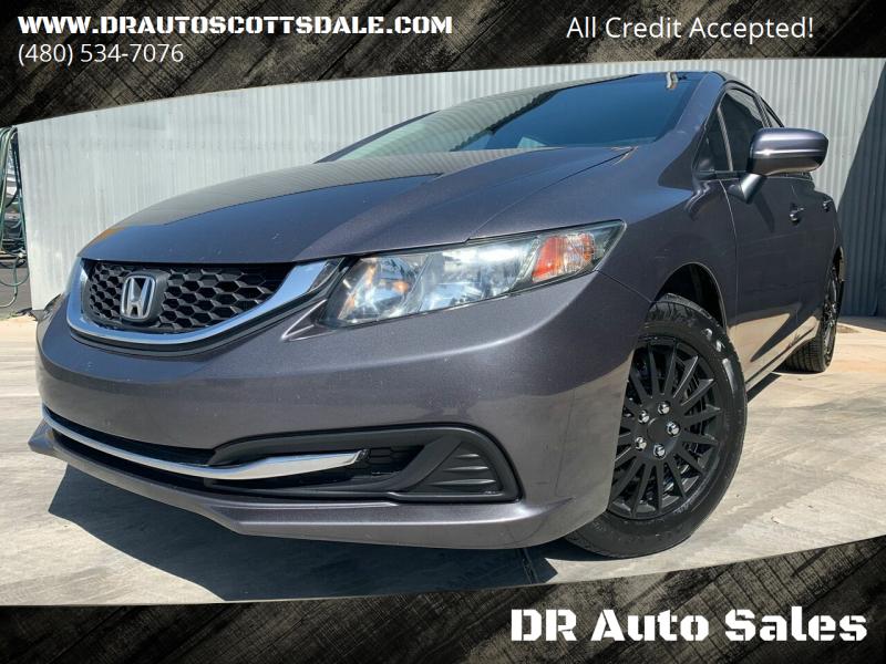 2014 Honda Civic for sale at DR Auto Sales in Scottsdale AZ