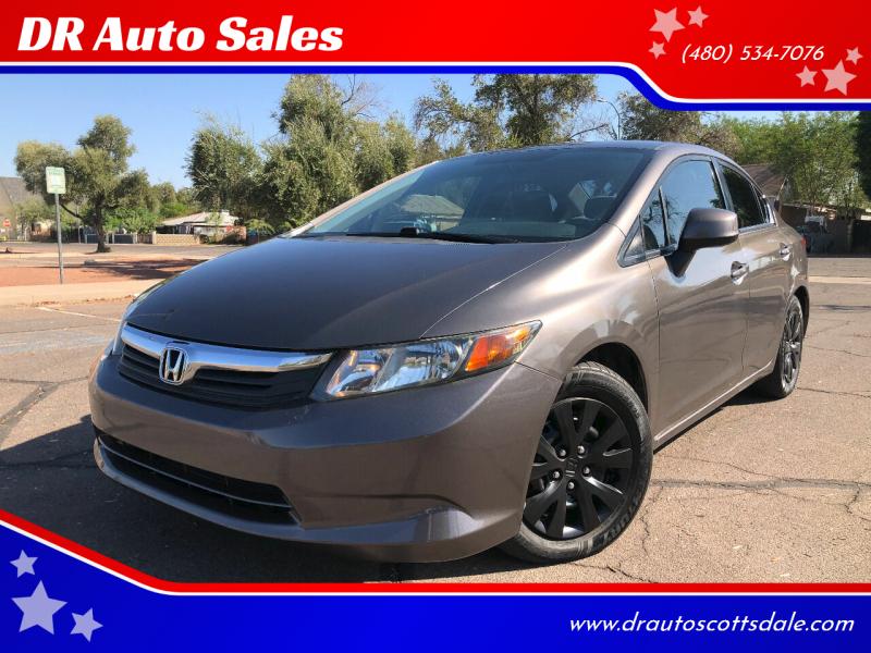 2012 Honda Civic for sale at DR Auto Sales in Scottsdale AZ
