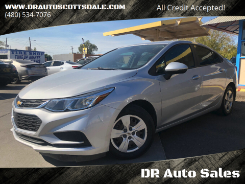 2017 Chevrolet Cruze for sale at DR Auto Sales in Scottsdale AZ