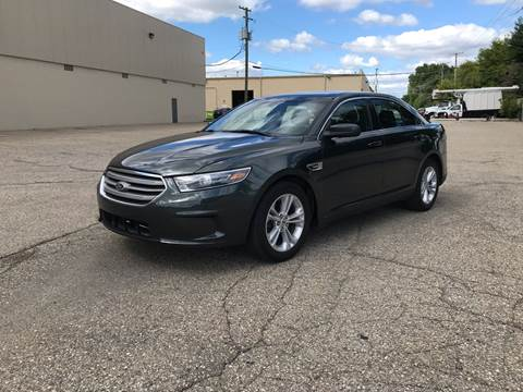 2016 Ford Taurus for sale at A & R Auto Sale in Sterling Heights MI