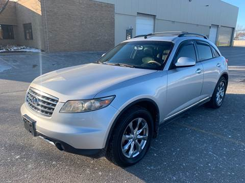 2007 Infiniti FX35 for sale at A & R Auto Sale in Sterling Heights MI