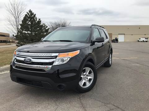 2012 Ford Explorer for sale at A & R Auto Sale in Sterling Heights MI