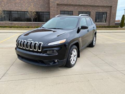2014 Jeep Cherokee for sale at A & R Auto Sale in Sterling Heights MI
