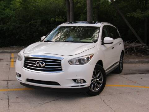 2013 Infiniti JX35 for sale at A & R Auto Sale in Sterling Heights MI