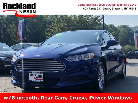 2016 Ford Fusion for sale in Blauvelt, NY