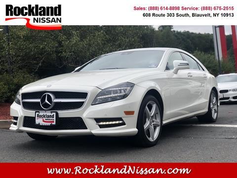 2014 Mercedes-Benz CLS for sale in Blauvelt, NY