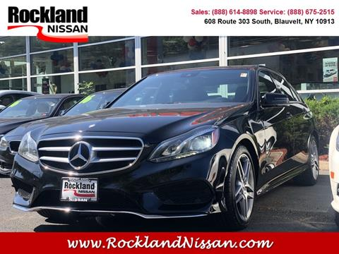 2014 Mercedes-Benz E-Class for sale in Blauvelt, NY
