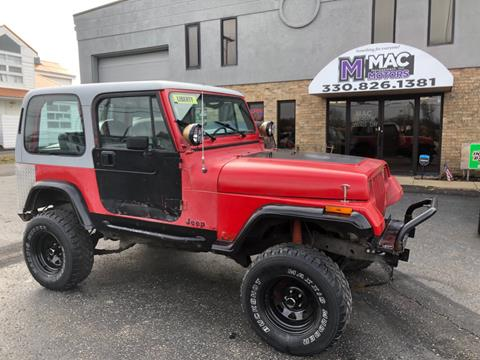 1989 Jeep Wrangler for sale in North Canton, OH