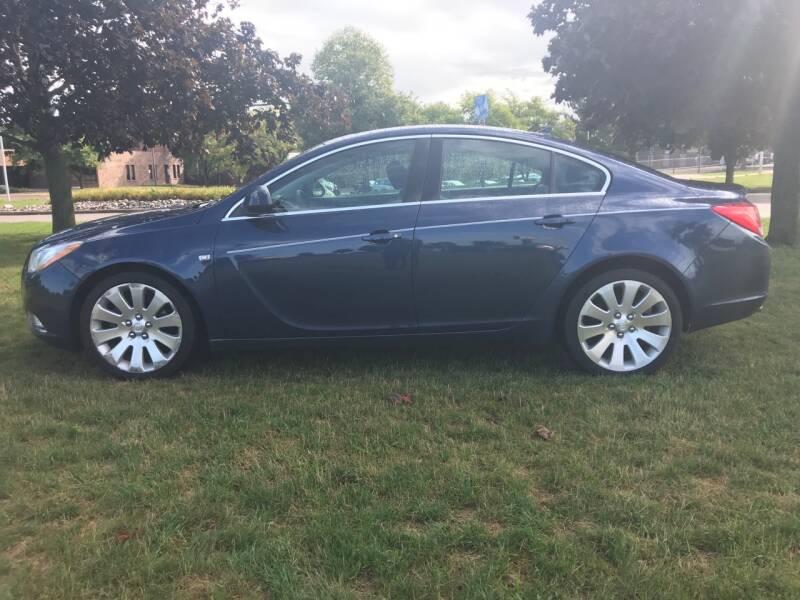 2011 Buick Regal for sale at Motors Inc in Mason MI