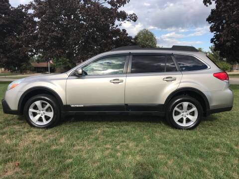 2014 Subaru Outback for sale at Motors Inc in Mason MI