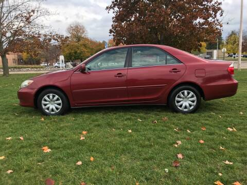 2006 Toyota Camry for sale at Motors Inc in Mason MI