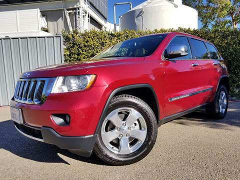 2012 Jeep Grand Cherokee for sale at San Diego Auto Solutions in Escondido CA