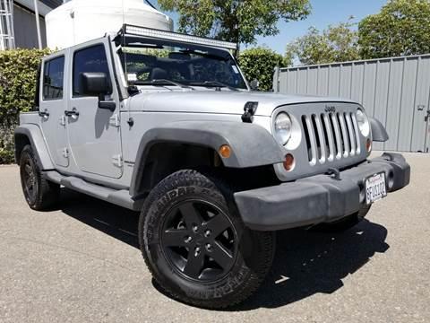 2012 Jeep Wrangler Unlimited for sale in Escondido, CA