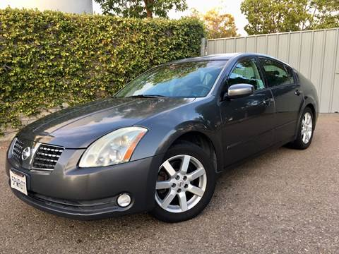 2006 Nissan Maxima for sale at San Diego Auto Solutions in Escondido CA